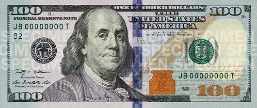 Как отличить подделку 100 долларов? фото