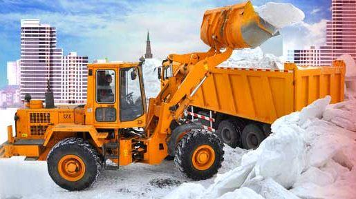 Как заказать уборку и вывоз снега? фото