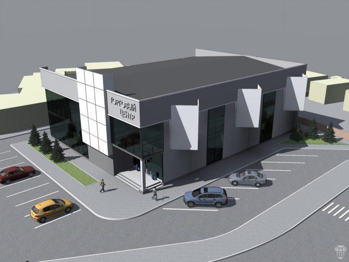 Как составить проект торгового центра и его фасада? фото