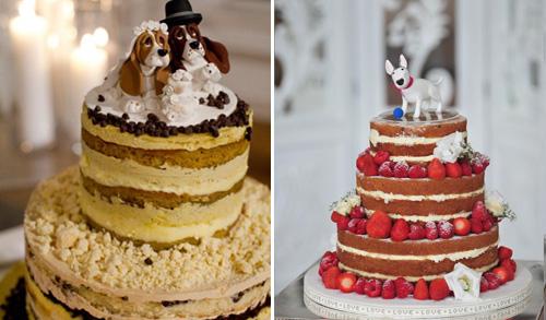 Какой торт заказать   с мастикой или открытыми коржами? фото