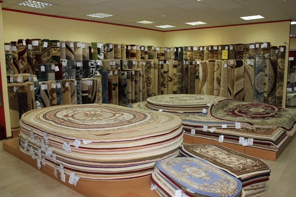 Где покупать ковры отечественного производства? фото
