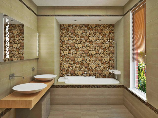Как использовать керамическую плитку в дизайне интерьера? фото