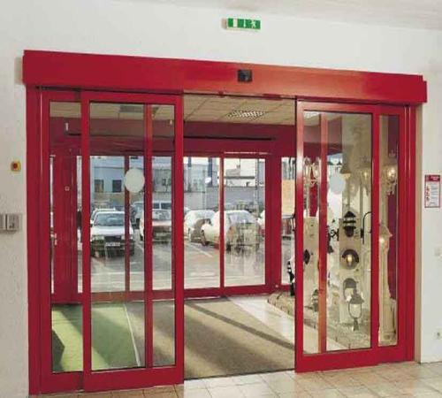 Как работают автоматические раздвижные двери? фото