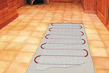 Как правильно сделать теплый пол под плитку? фото
