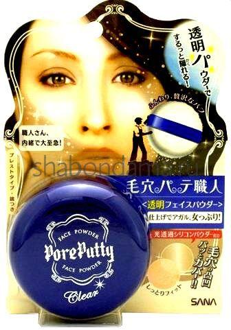 Японская компактная пудра для лица фото