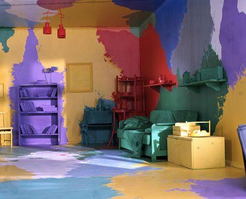 Как выбрать цвет декоративной краски для стен? фото