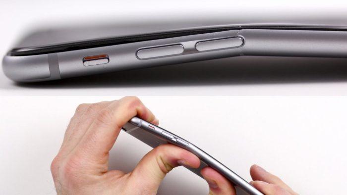 Почему iPhone 6 гнется? фото
