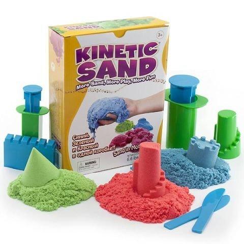 Что такое кинетический песок? фото