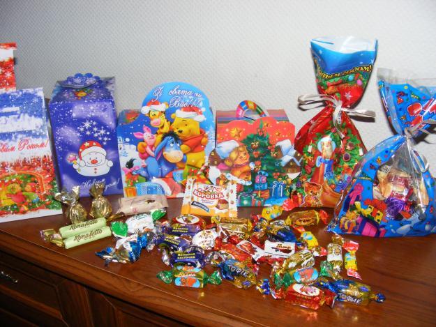 Почему сладкие подарки на Новый год   лучшие? фото