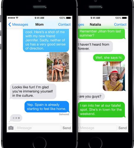 Как на iPhone 5 настроить iMessage? фото
