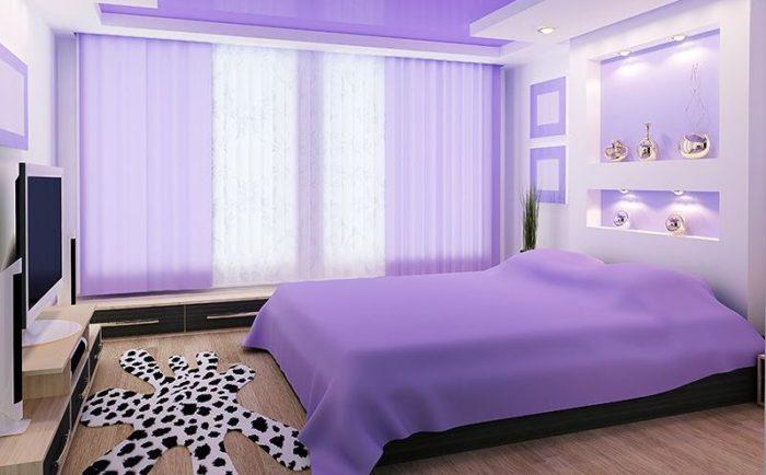 Как выбрать натяжные потолки в спальню? фото