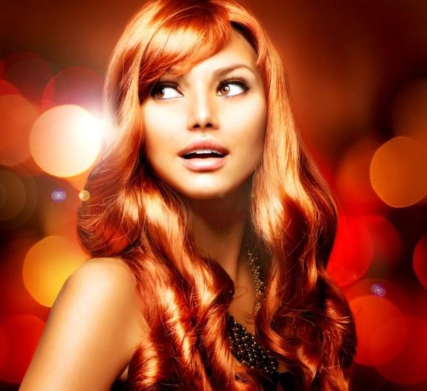 Как покраситься в темно рыжий цвет волос? фото