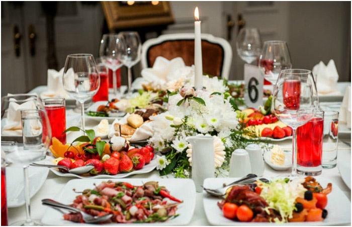 Свадебное меню или чем угощать на свадьбе? - фото