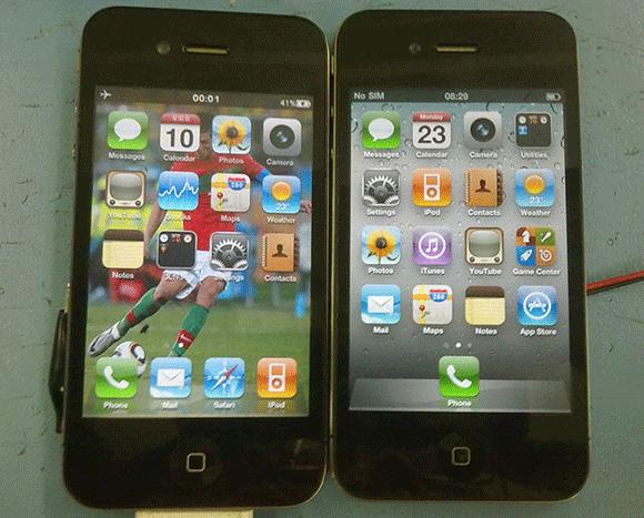Как iPhone 5 отличить от подделки? фото