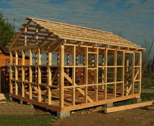 Как построить каркасный дом своими руками? фото