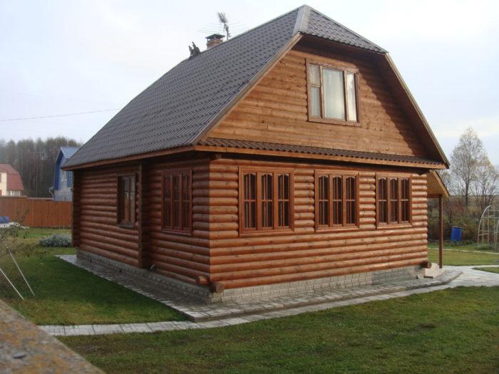 Как построить надежный дом из бруса? фото