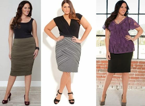 Как выбрать юбку для полной фигуры? - фото