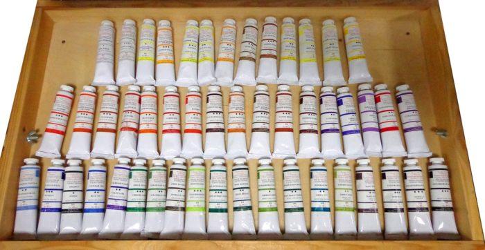 Как правильно выбрать масляные краски, кисти и этюдники для живописи фото