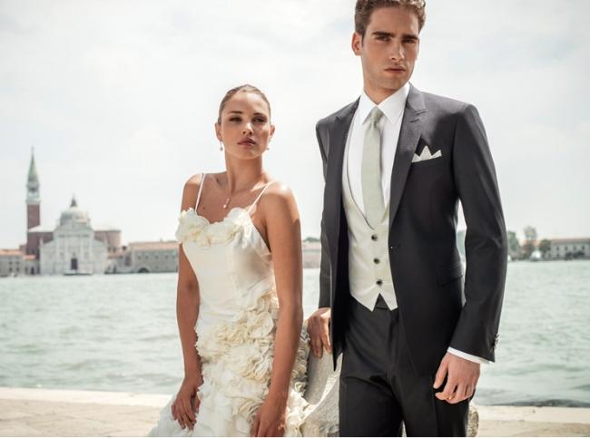 Как выбрать мужской костюм на свадьбу? фото