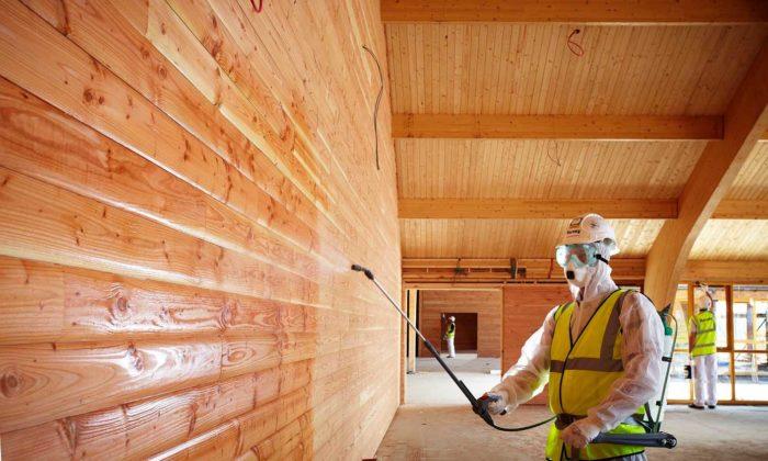 Как защитить деревянный дом от пожара? фото