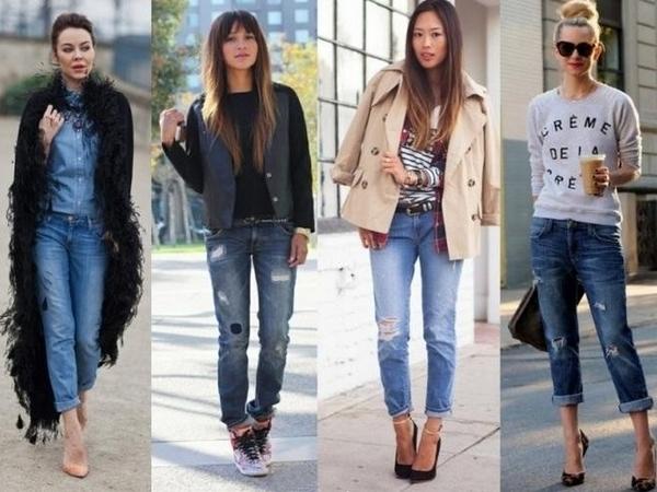Какие джинсы в моде осень зима 2015 2016? фото