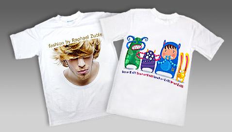 Какие бывают способы печати на футболках? фото
