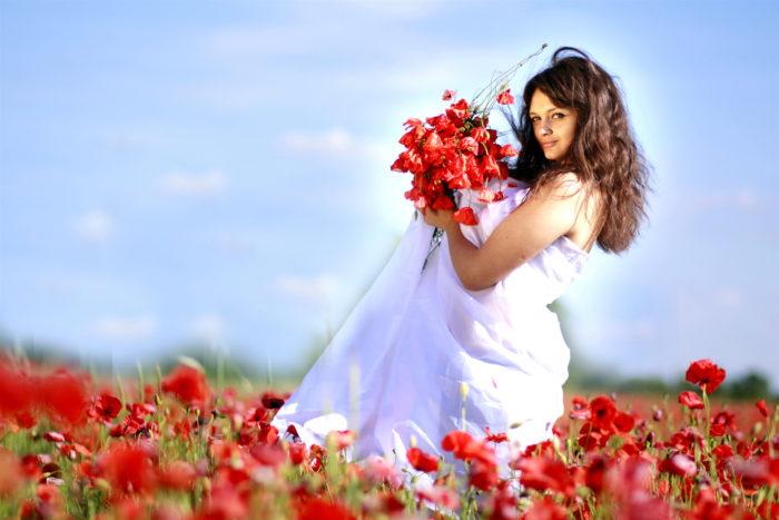 Какие цветы любят женщины Тельцы? фото