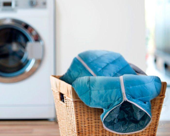 Как постирать пуховик в домашних условиях? фото
