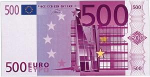 Как отличить подделку 500 евро? фото