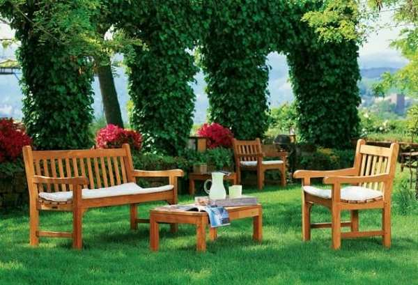 Как выбрать мебель для сада? - фото