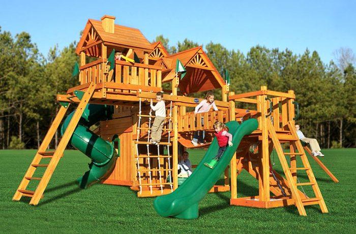 Какие бывают детские городки и игровые комплексы? фото