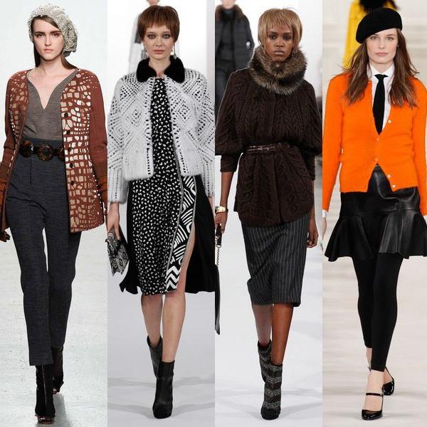 Какие кофты в моде осень зима 2015 2016? фото