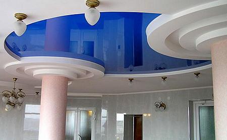 Чем хороши натяжные потолки? фото