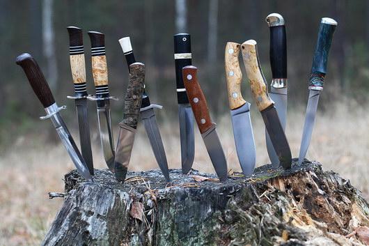 Как выбрать охотничий нож? фото