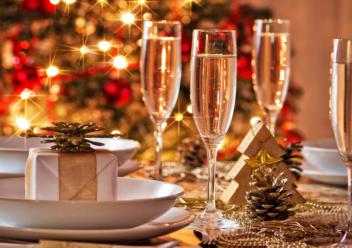 Как накрыть стол на Новый год 2016? фото