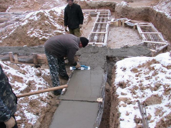 Как сделать бетон для фундамента своими руками? фото