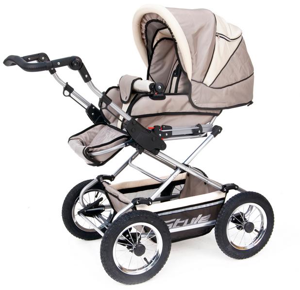 Почему многие родители выбирают коляски типа 3в1? фото