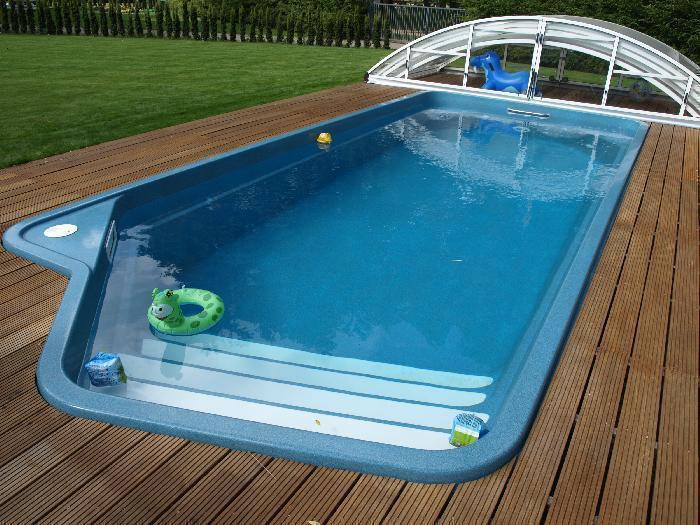 Как построить композитный бассейн своими руками? - фото