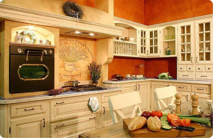 Как сделать кухню в стиле Прованс? - фото