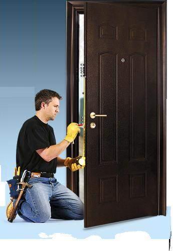Как правильно установить входную металлическую дверь? фото