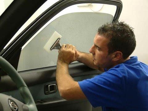 Как сделать тонировку авто своими руками? - фото