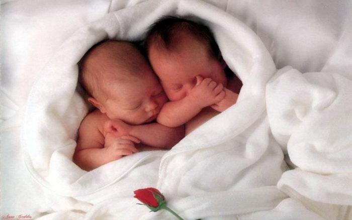 К чему снится рожать близнецов? - фото