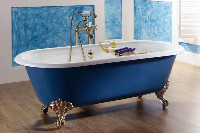 Чугунная или акриловая ванна: что выбрать? фото