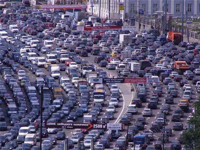 Как узнать, где сейчас пробки в Москве? фото