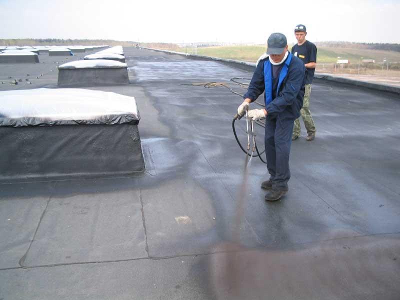 Как сделать гидроизоляцию плоской крыши? фото