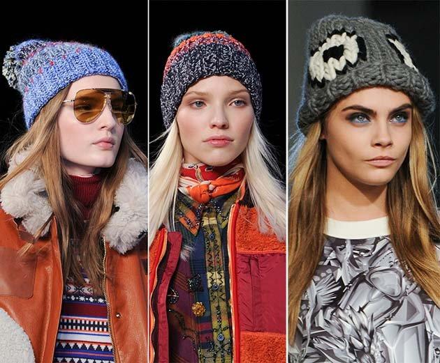 Какие шапки в моде осень-зима 2015-2016? - фото