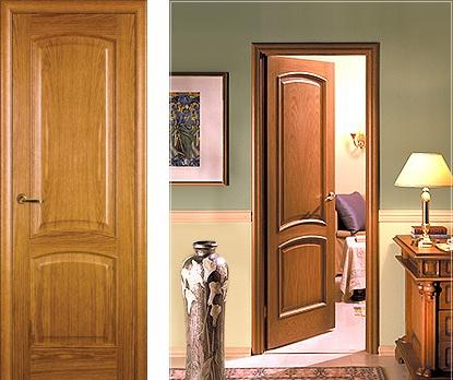 Межкомнатная дверь массив – из какого дерева лучше выбрать? фото