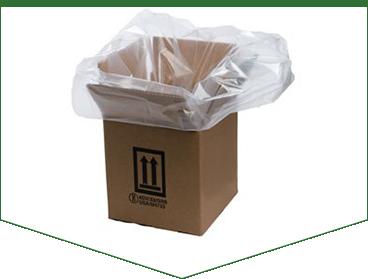 Зачем нужны полиэтиленовые пакеты вкладыши в короба? фото