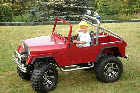 Как сделать детский электромобиль? фото
