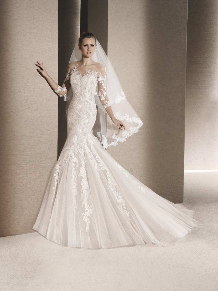 Какие свадебные платья в моде в 2016 году? - фото